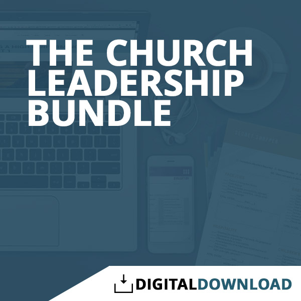 Churches Church Leadership: Church Leadership Bundle